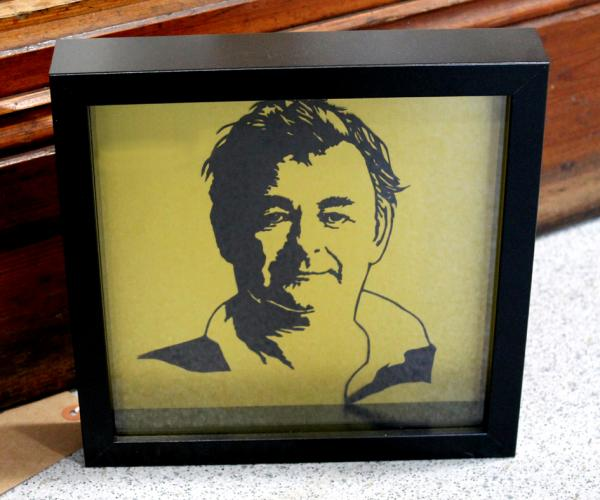 Sarah Manton - Brian Clough Papercut