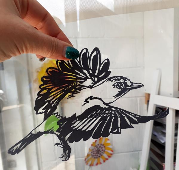 Sarah Manton - Jay Bird Papercut