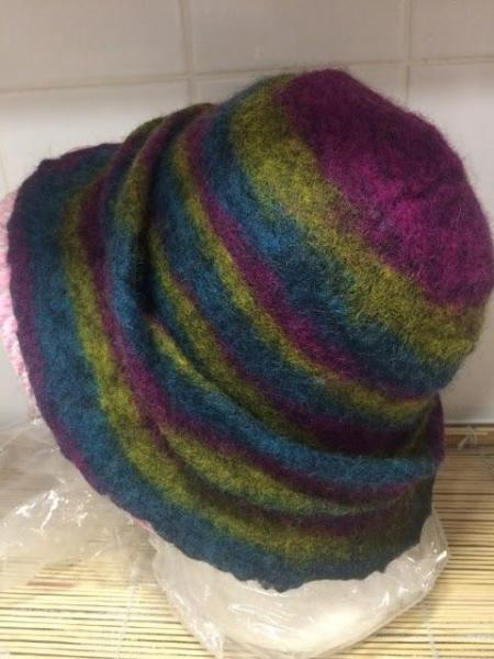 Laura's World of Arts Handmade Felted Hats & Wearable Art