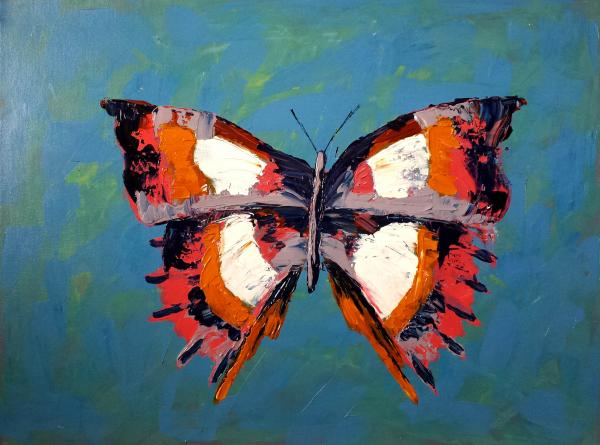 Butterfly 4 (acrylic on canvas)
